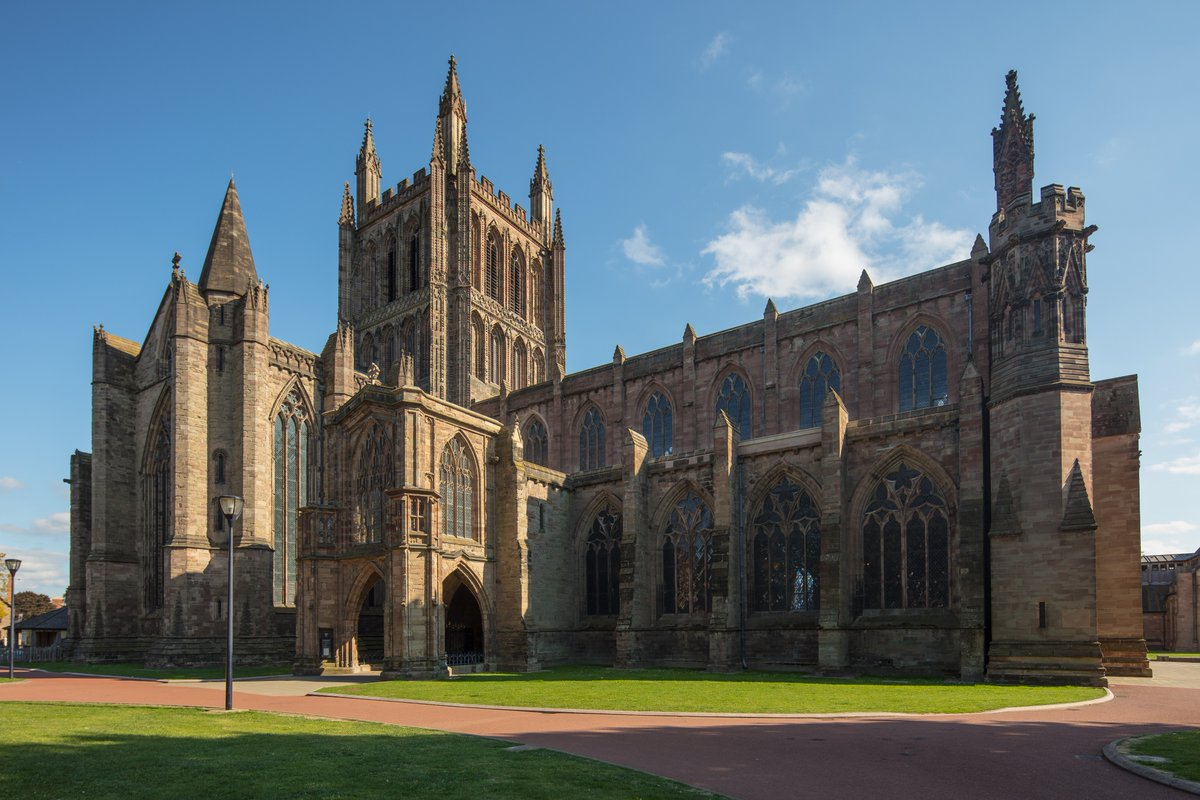 Michael Whitefoot Hereford Cathedral