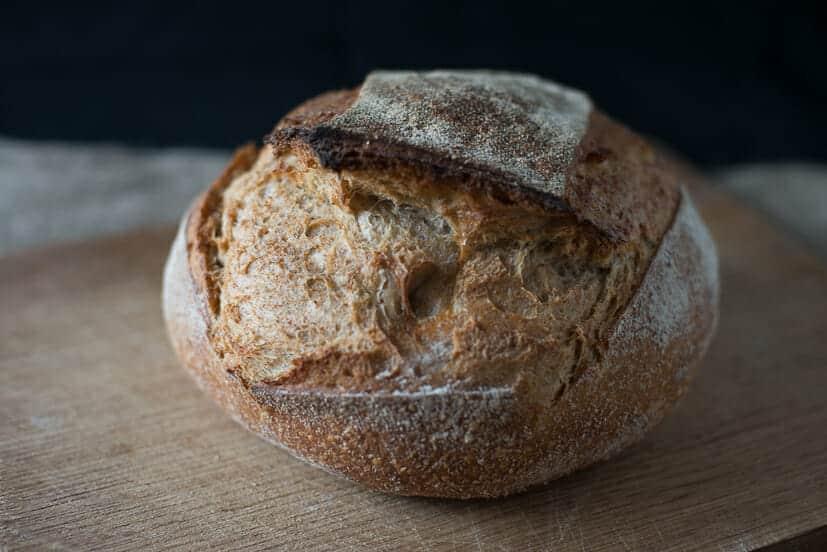 Peter Cooks Bread