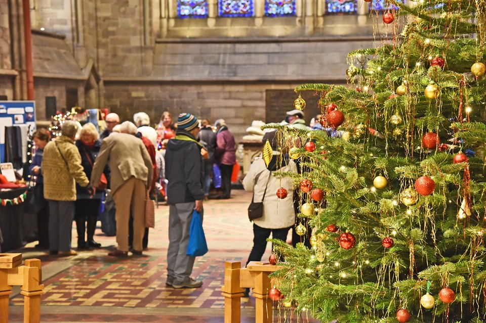 Hereford Cathedral Christmas Fair