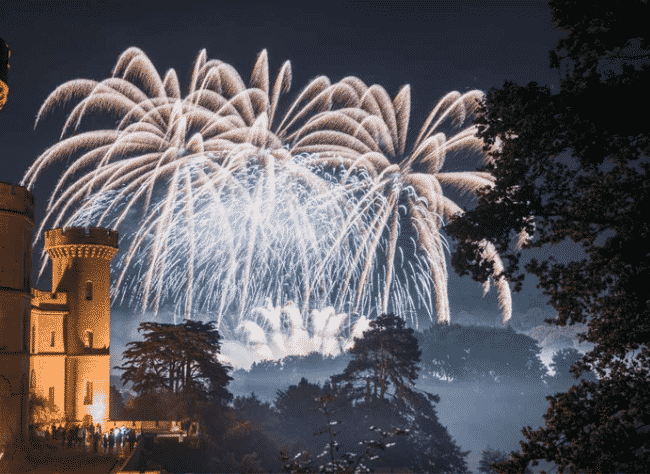 Firework Champions at Eastnor Castle