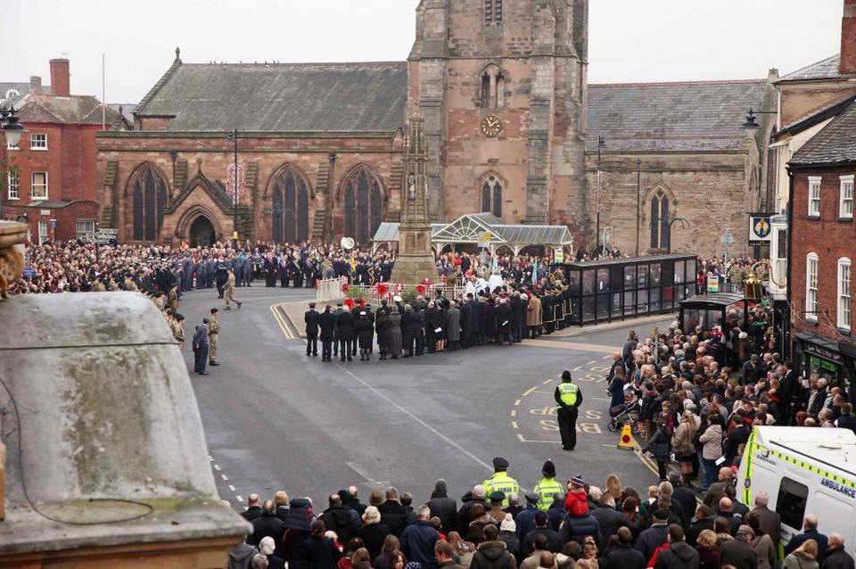 Hereford Remembrance Sunday Parade 2019