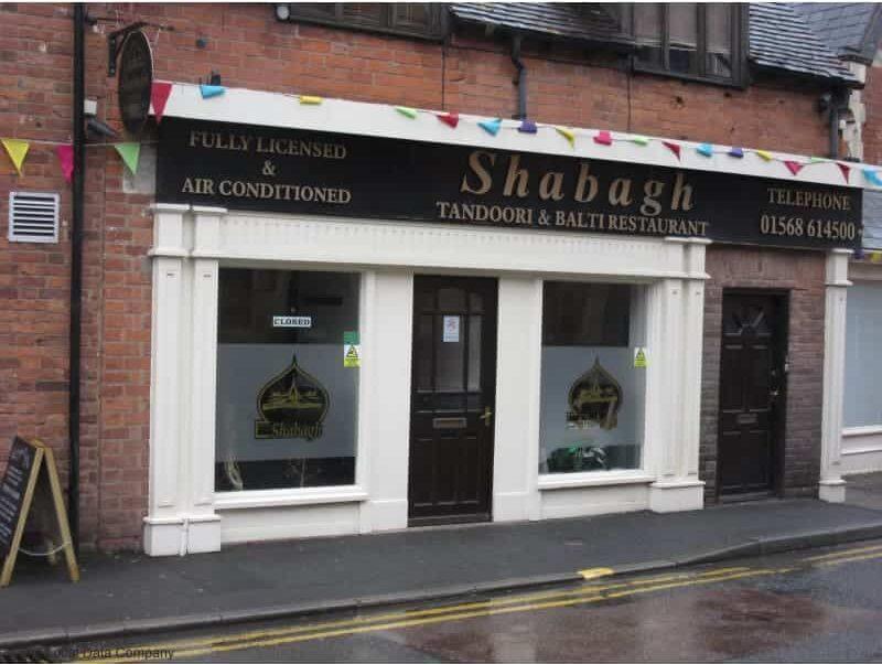 Shabagh Tandoori & Balti Restaurant