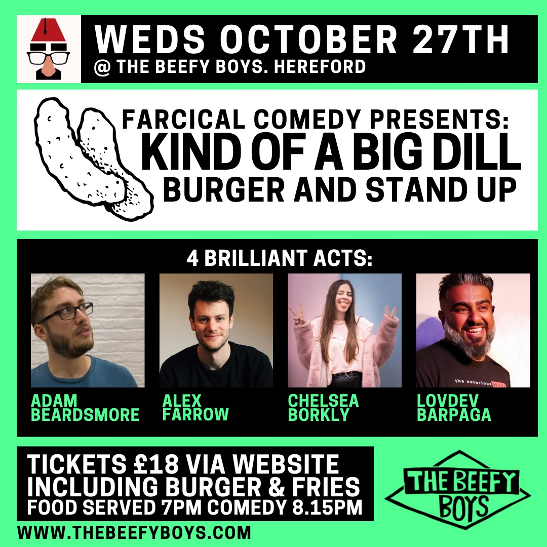 Comedy at the Beefy Boys