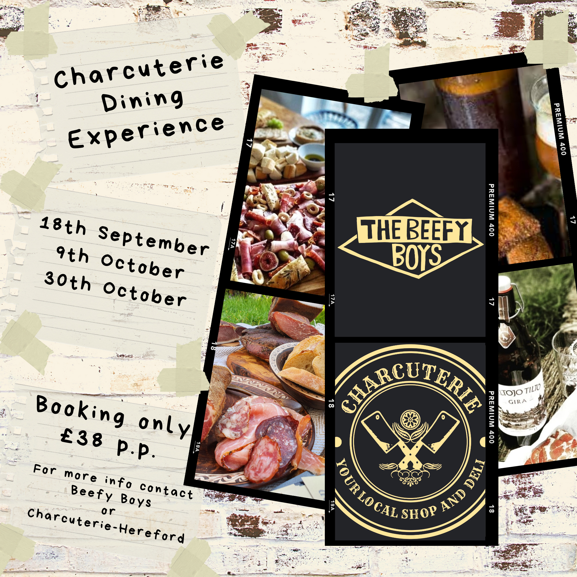charcuterie dining experience