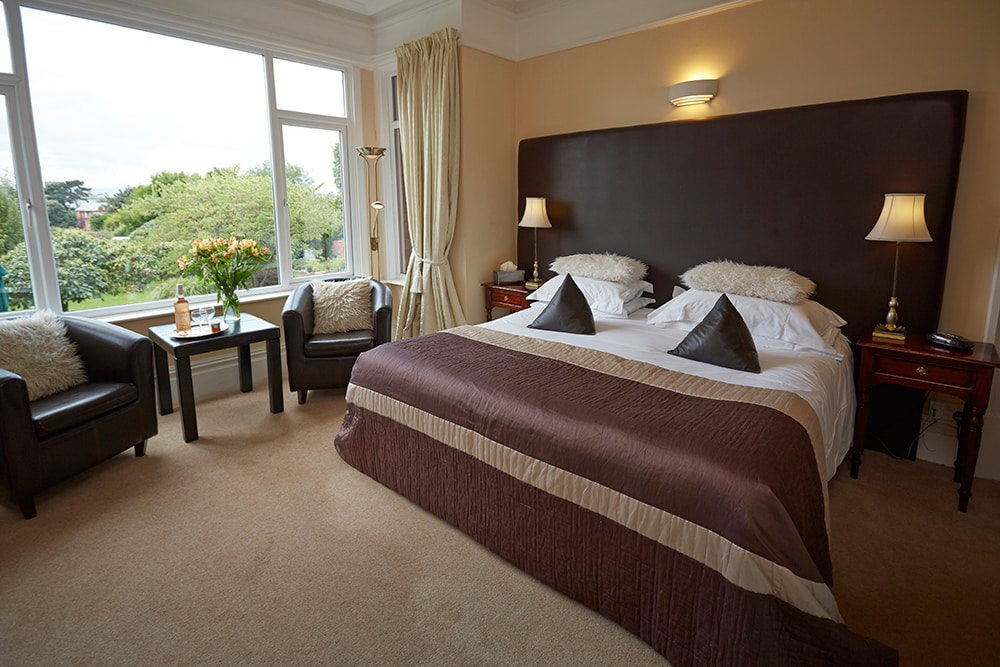 Somerville House in Hereford bedroom
