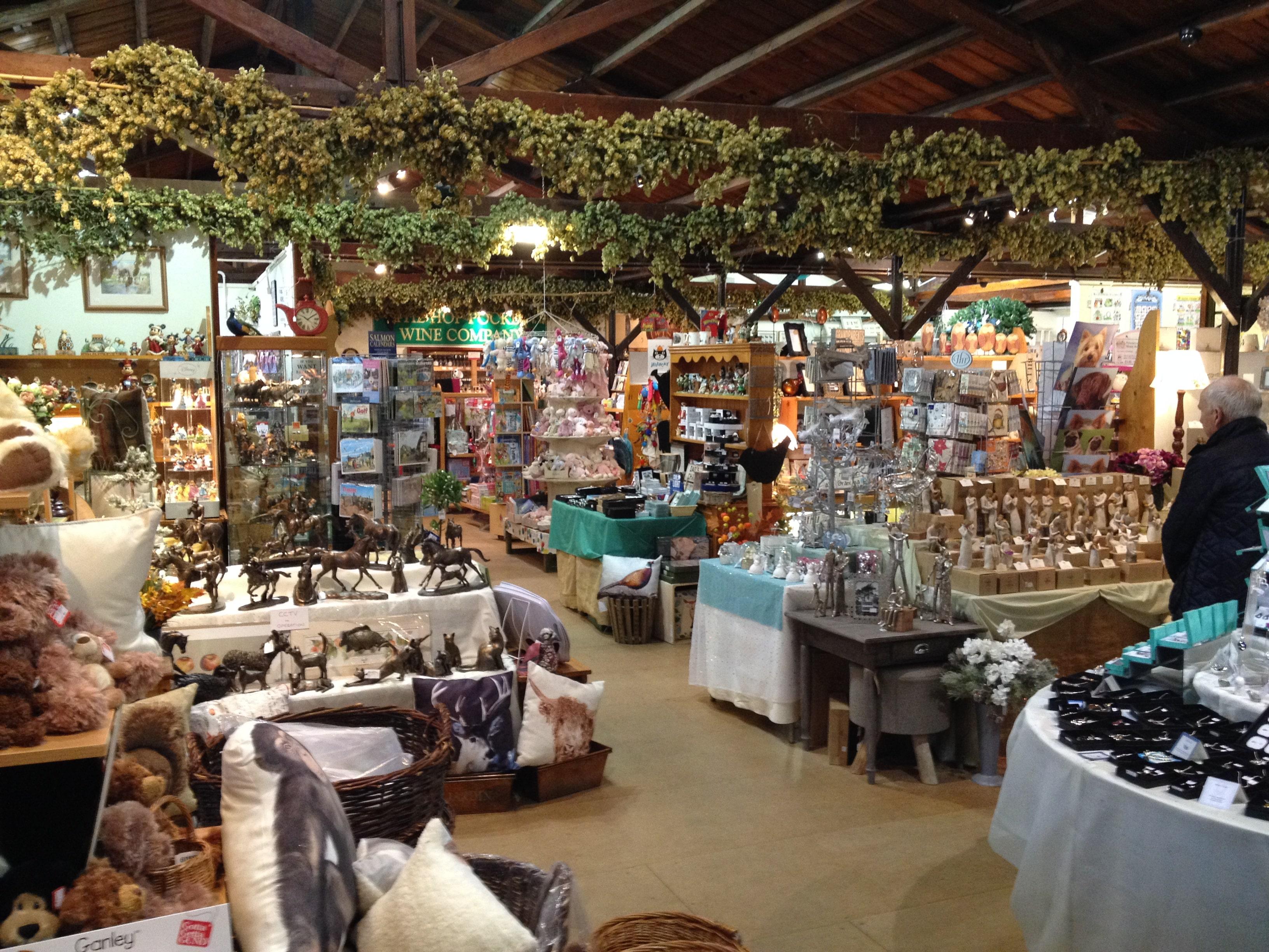 Hop Pocket Shopping Village » Eat  Sleep, Live Herefordshire