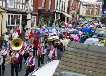 Bromyard is in Herefordshire and home to many music festivals