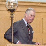 HRH Prince of Wales on his visit in 2014