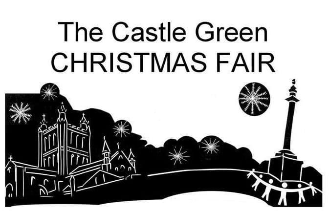 Christmas Fair on Castle Green