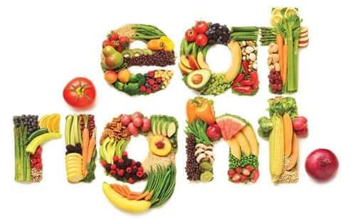 A picture fruit and veg for Nutritional Seminars at Point 4