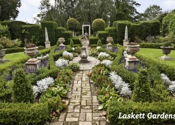 Photo of Laskett garden - part of Herefordshire Open Gardens event