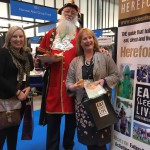 Photo of Shrewsbury Town Crier and Pearl Taylor at The British Tourism and Travel Show