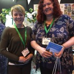 A picture of Sarah from the NFU and Vicky from Gloucester TIC