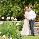 Picture of Louise Faulkner's wedding to Ian Fernandez at Burton Court in Herefordshire