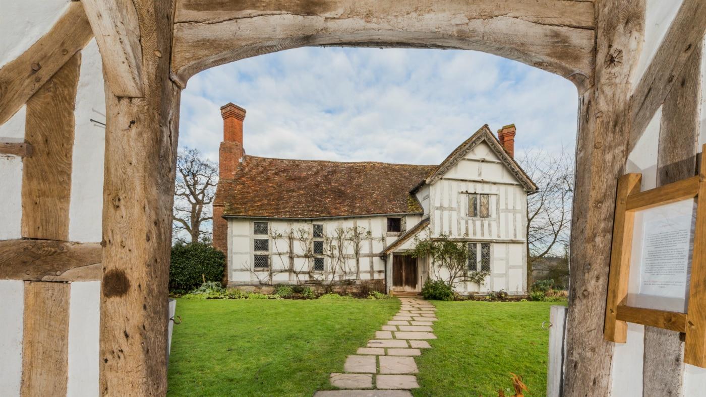 historic house Brockhampton Estate Gatehouse in Herefordshire (credit Steve Betts)