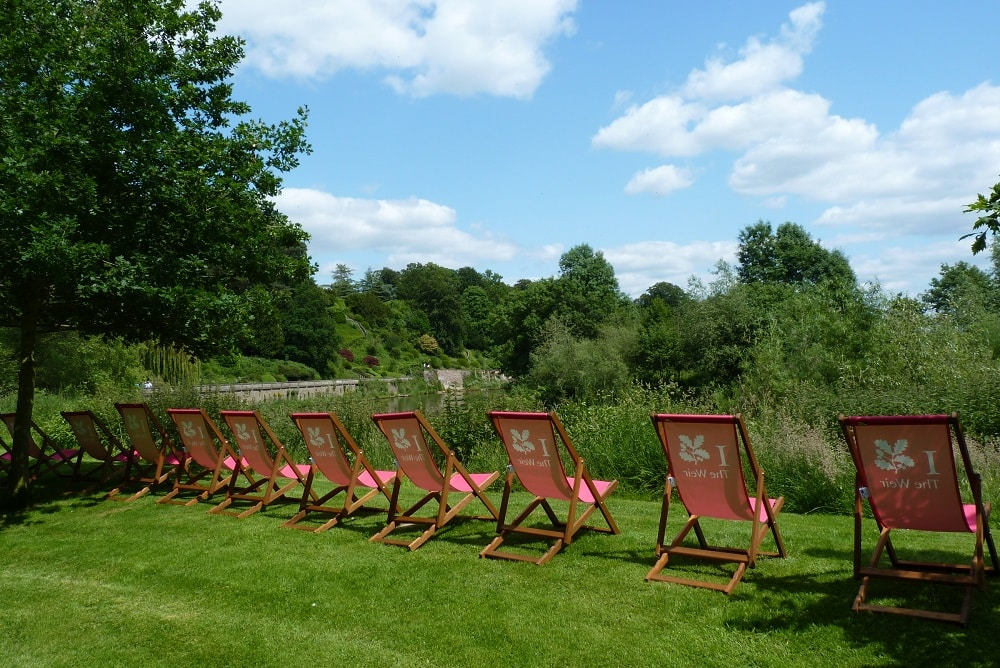 A picture of Deckchairs at The Weir Gardens