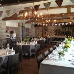 Picture of a wedding reception at The Greenman