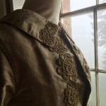 Picture of a mannequin wwaring historic clothes