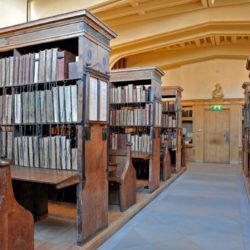 Hereford Cathedral Chained library
