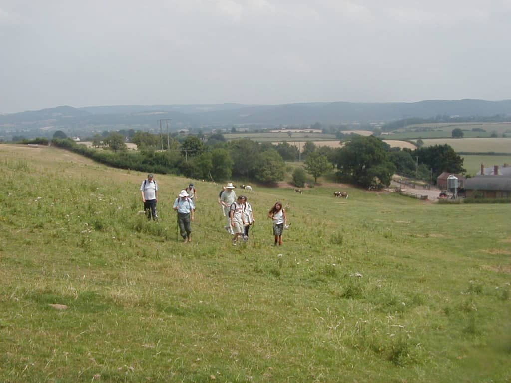 Walk Herefordshire - walkers
