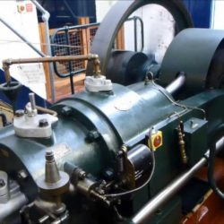 Steam engine at The Waterworks Museum