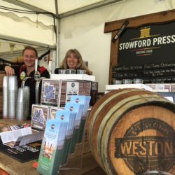 Westons Stand at Royal Three Counties