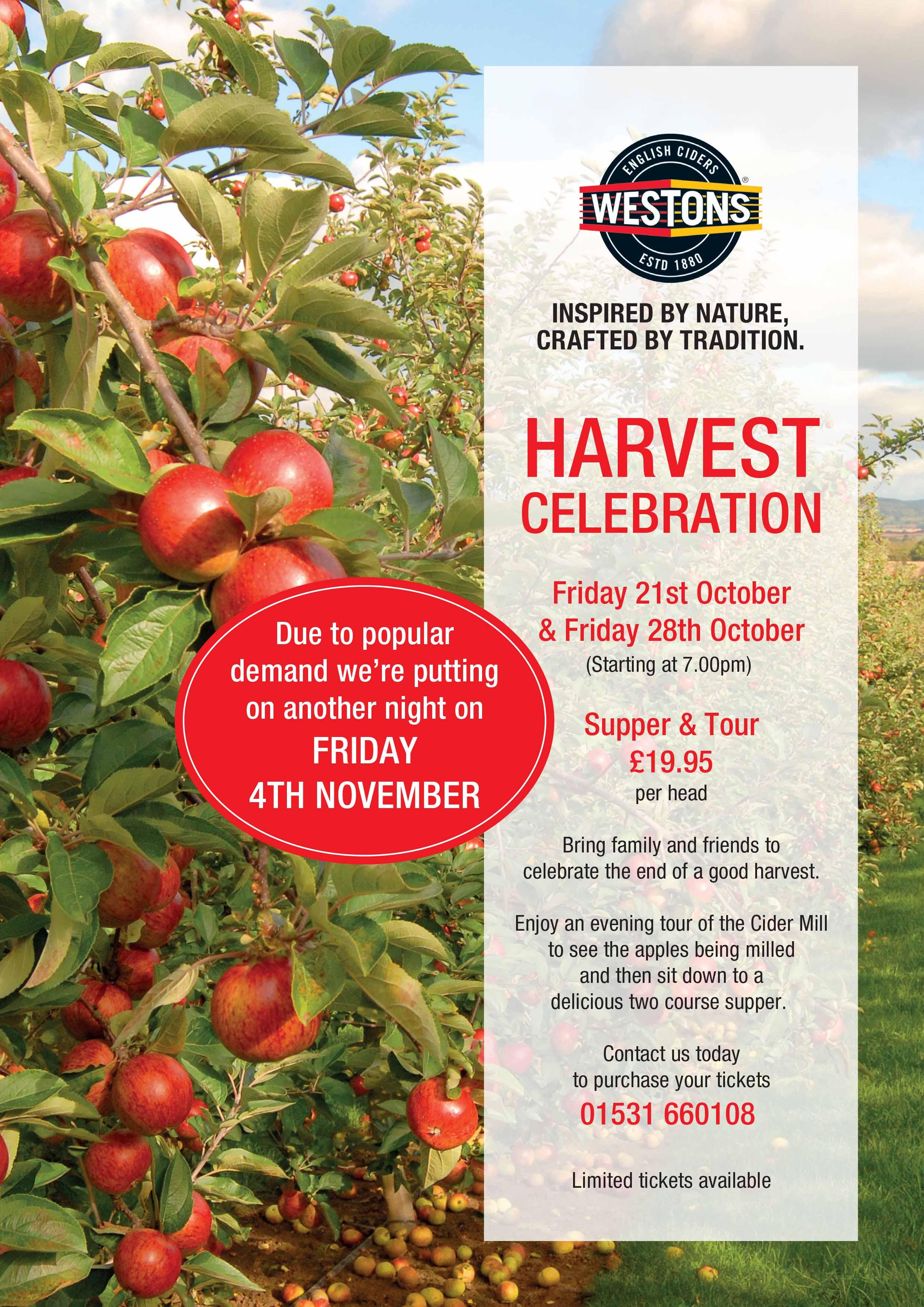 Westons Cider Harvest celebration 2016