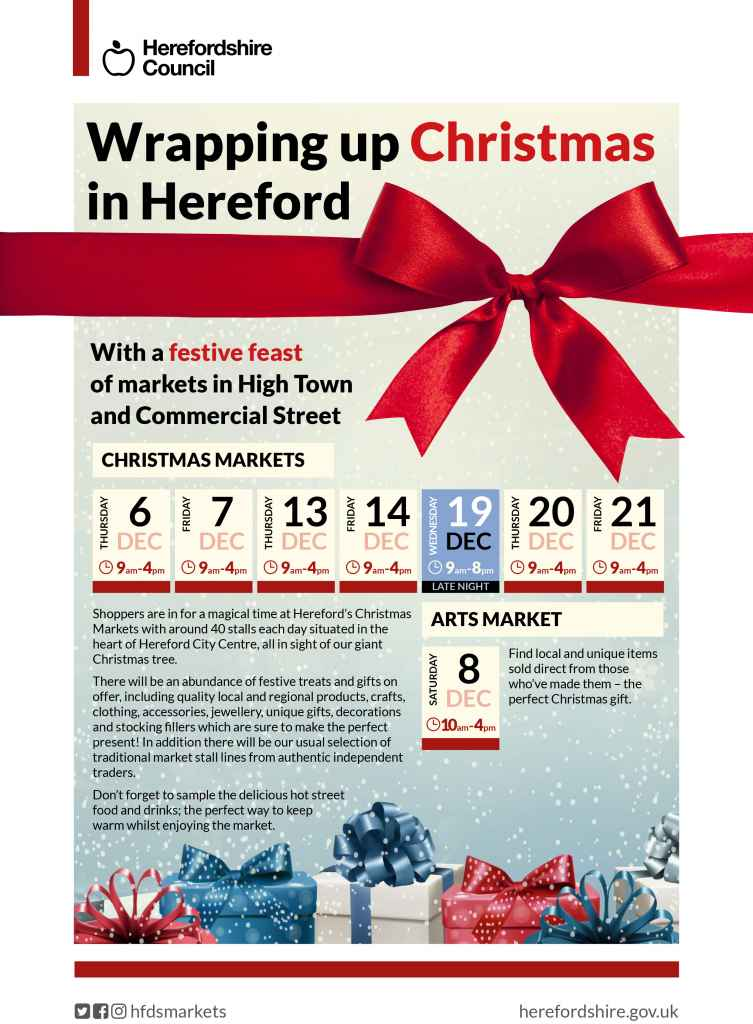 Christmas Markets Hereford