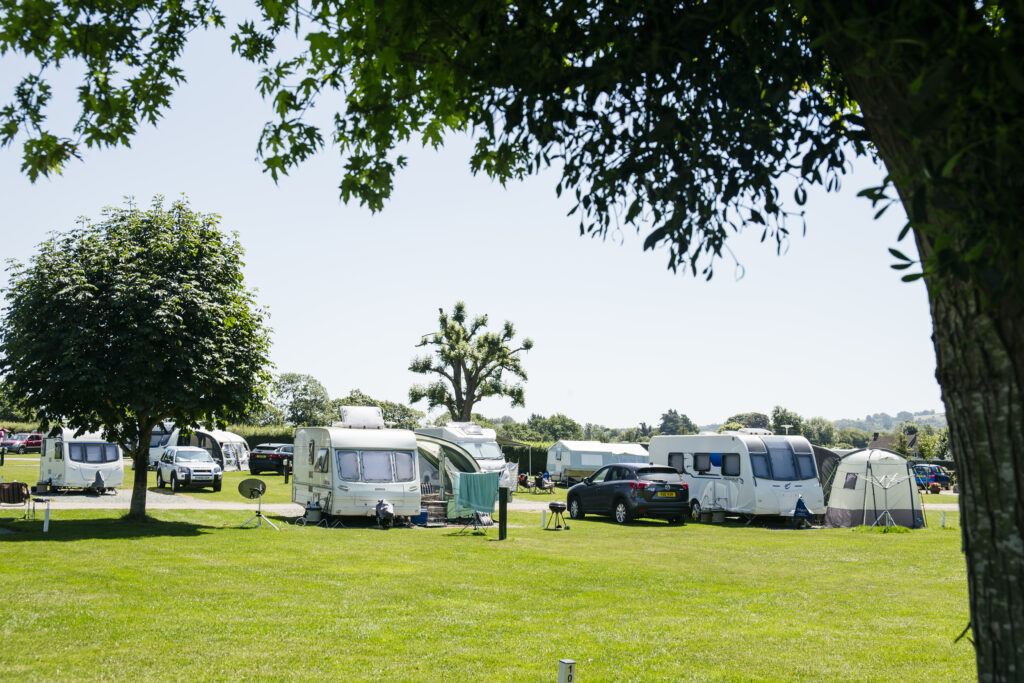 Hereford Camping and Caravanning Club Site