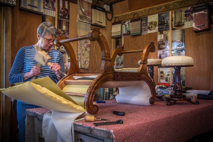 Huntlands Farm Upholstery Courses