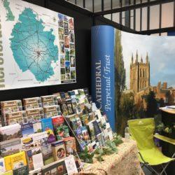 ESL British Travel Show stand