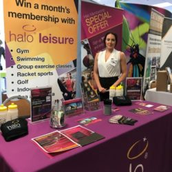 Halo Leisure at Hereford Means Business Expo