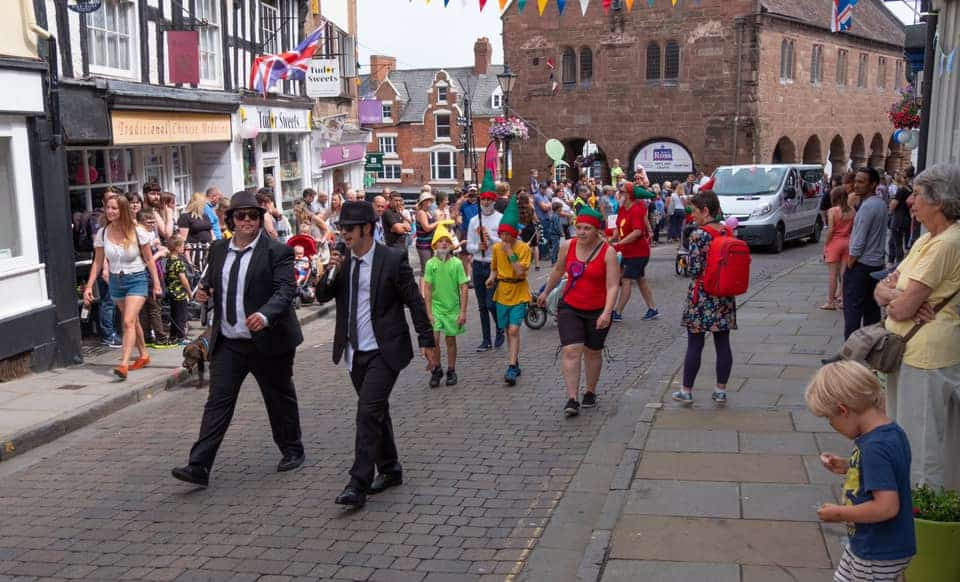 Ross on Wye Carnival procession