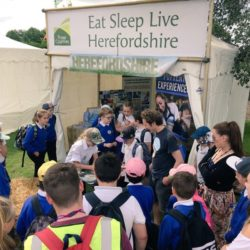 ESL PROMOTES HEREFORDSHIRE AT ALL THE BIG SHOWS