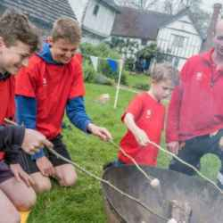 Get outdoors with the Young Rangers club at Brockhampton Estate
