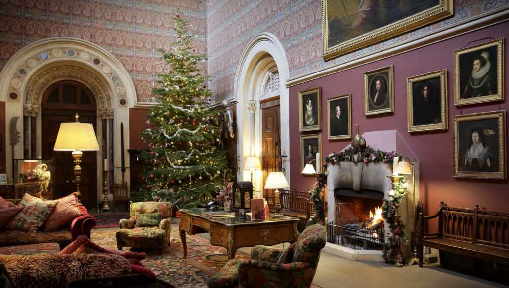 Eastnor Castle at Christmas
