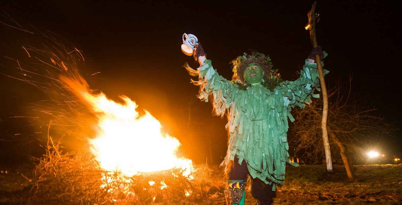 Wassailing in Herefordshire