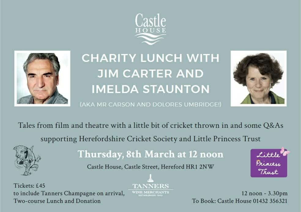 Castle House Hotel Charity Lunch
