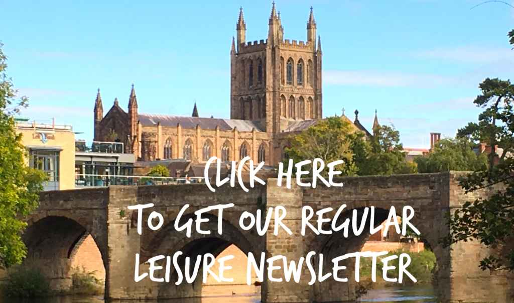 Click here to receive our regular leisure newsletter