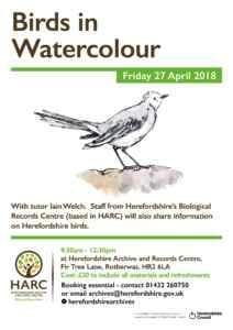 HARC Birds in Watercolour