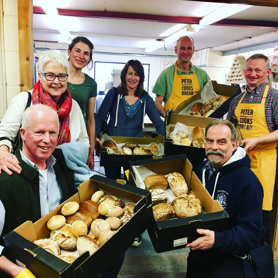 Peter Cooks Bread Making Workshops