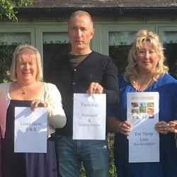 Juliet Williams (Lowe Farm), Steve Harris (Farm Stay UK), Heidi Chamberlain-Jones (Eat Sleep Live Herefordshire)