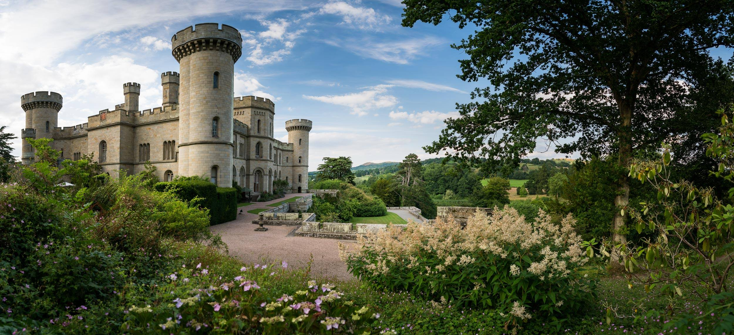 Inflatable Fun at Eastnor Castle