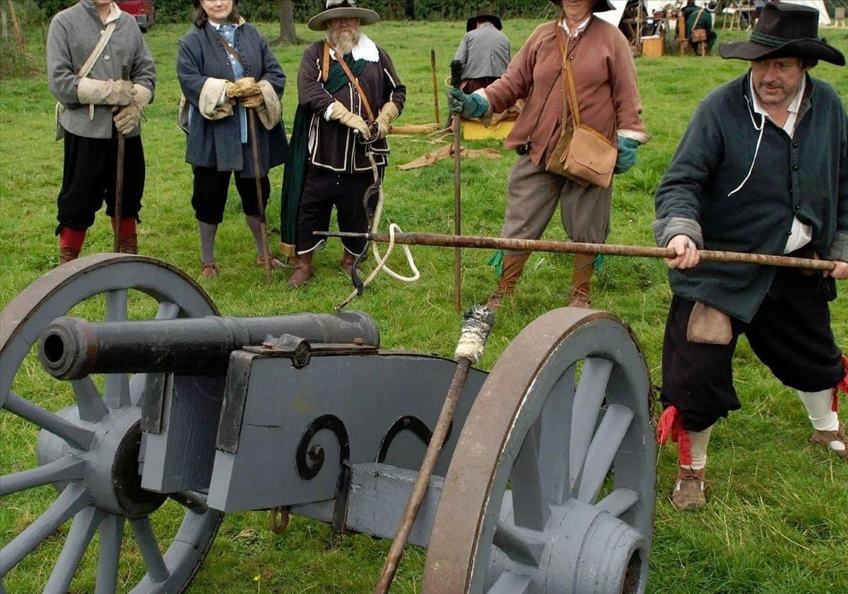 Brampton Bryan 375th Anniversary Civil War Re-Enactment