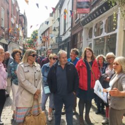 Hereford City guided tour Church Street