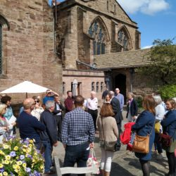 Hereford cathedral gardens tour