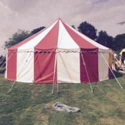Circus Tent at Barton Court