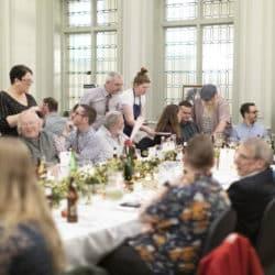 Ciderlands banquet at Green Dragon