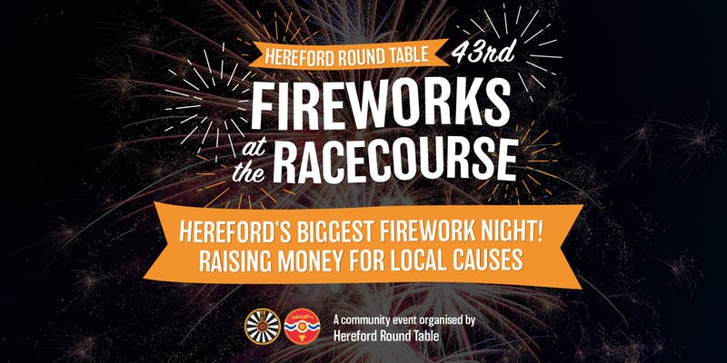 Hereford Racecourse Fireworks 2019