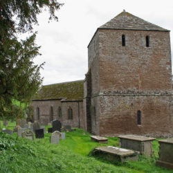 Garway Church in Herefordshire